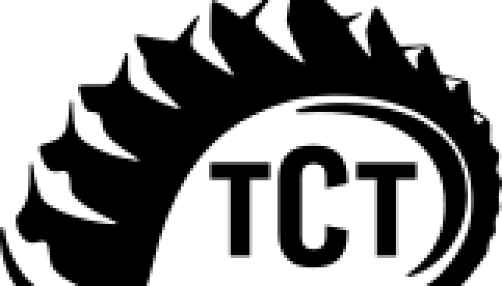 TCT logo (Black Transparent background)